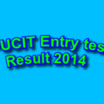 pucit entry test results 2014