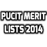 pucit 2014 merit list